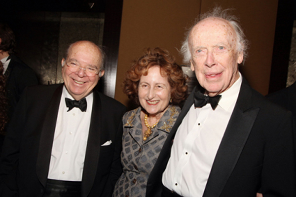 Leon and Cynthia Polsky, Jim Watson