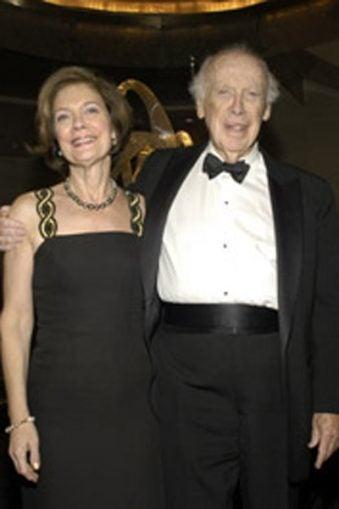 Liz Watson and James D. Watson
