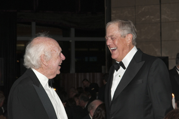 Jim Watson and David Koch