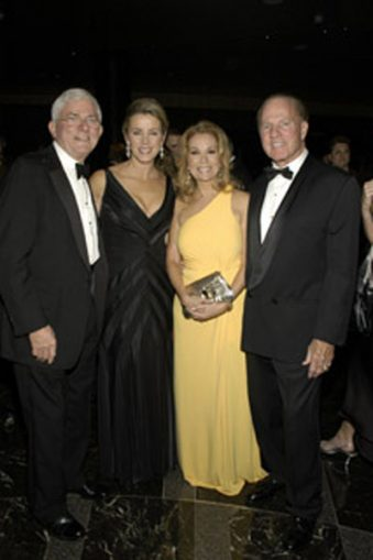 Phil Donahue, Deborah Norville, Kathie Lee and Frank Gifford