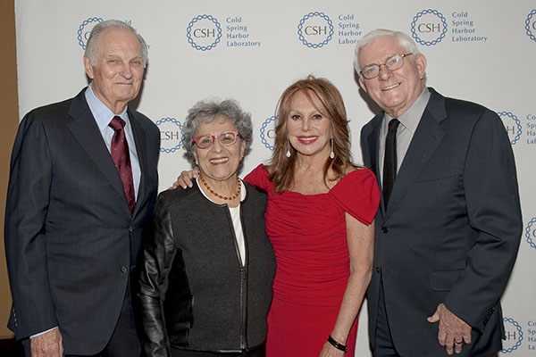 Alan and Arlene Alda, Marlo Thomas, and Phil Donahue