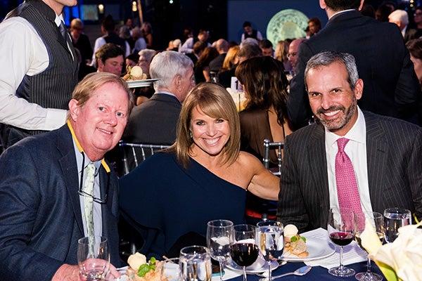 Bob Lindsay, Katie Couric, and John Molner