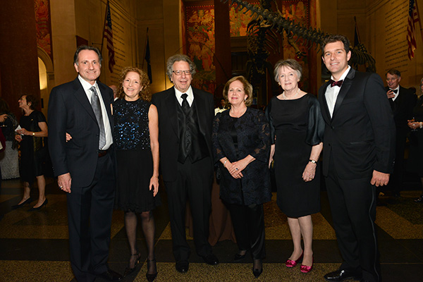 David and Mona Spector, Mike and Deedee Wigler, Rita Cleary, Derek Brand