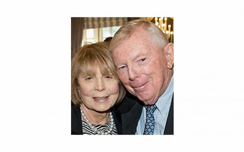 Helen & Charles Dolan – 2017 Double Helix Medal Recipients