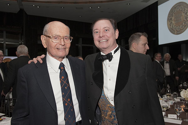 Howard Solomon and Andrew Solomon