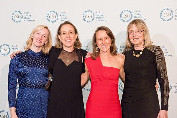 Krista Parris, Janet Wojcicki, Anne Wojcicki, Esther Wojcicki