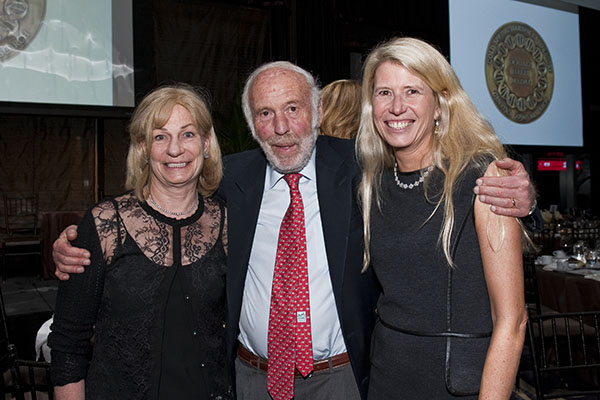 Marilyn and Jim Simons, Jamie Nicholls