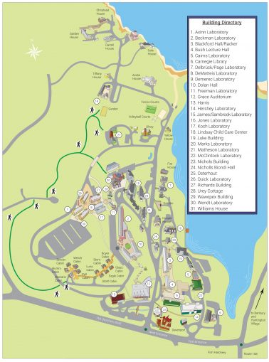 Directions - Cold Spring Harbor Laboratory on pfeiffer campus map, air products campus map, thiel campus map, valero campus map, laney campus map, neumann campus map, busch campus map, a&m campus map,