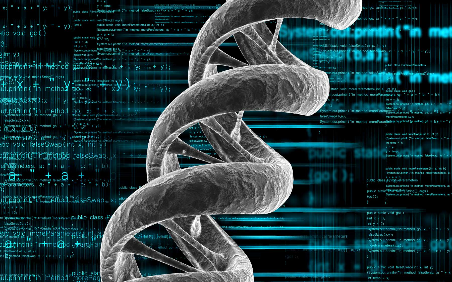 quantitative biology and DNA