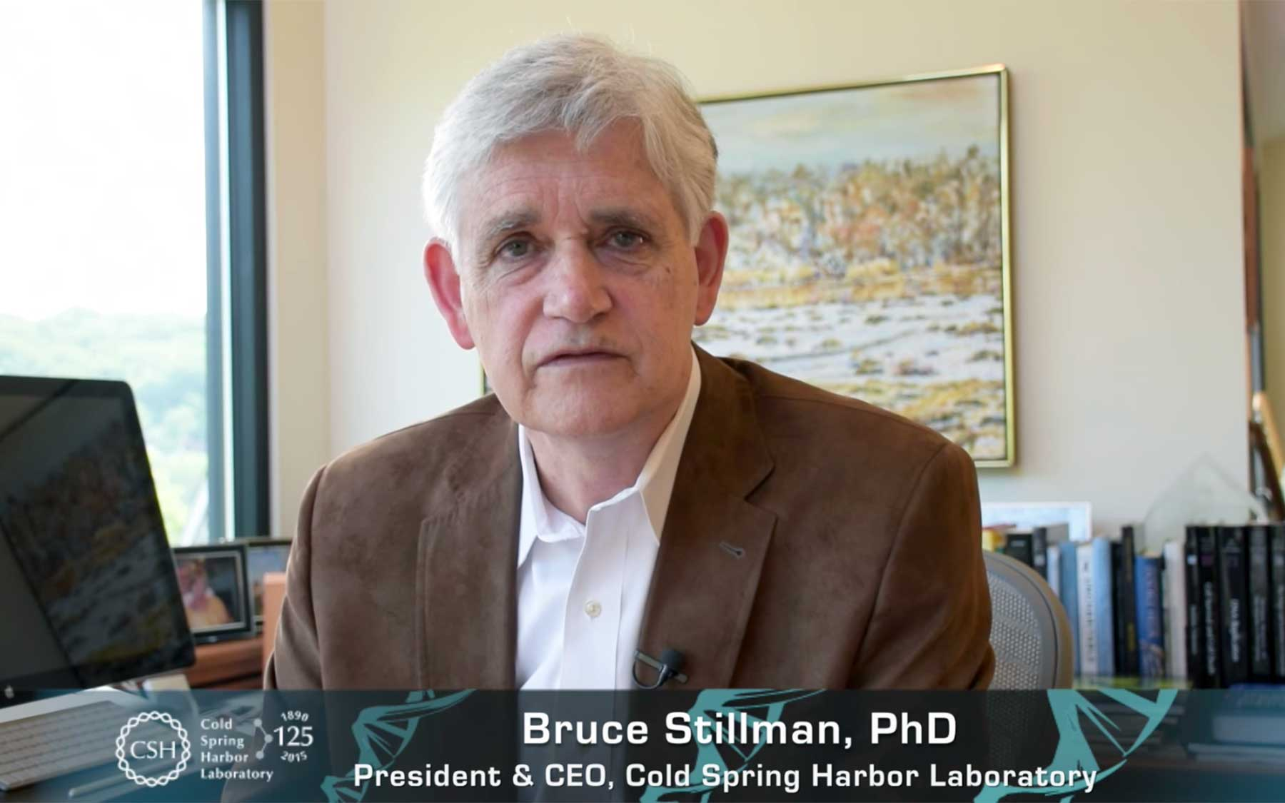 Bruce Stillman basic science needs your support