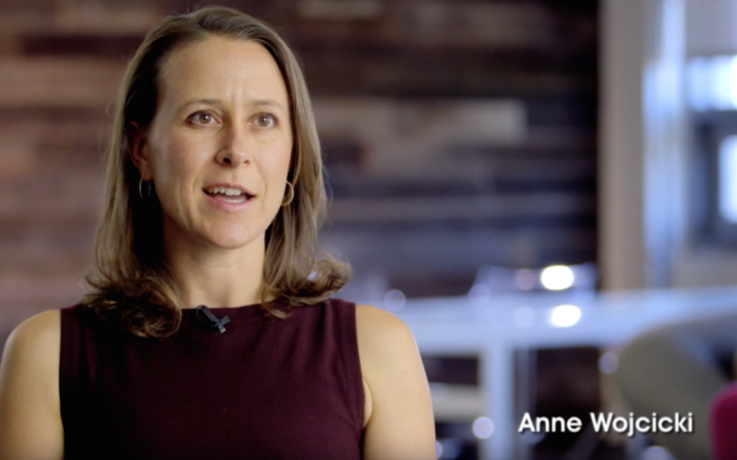 2015 Double Helix Medal Recipient Anne Wojcicki