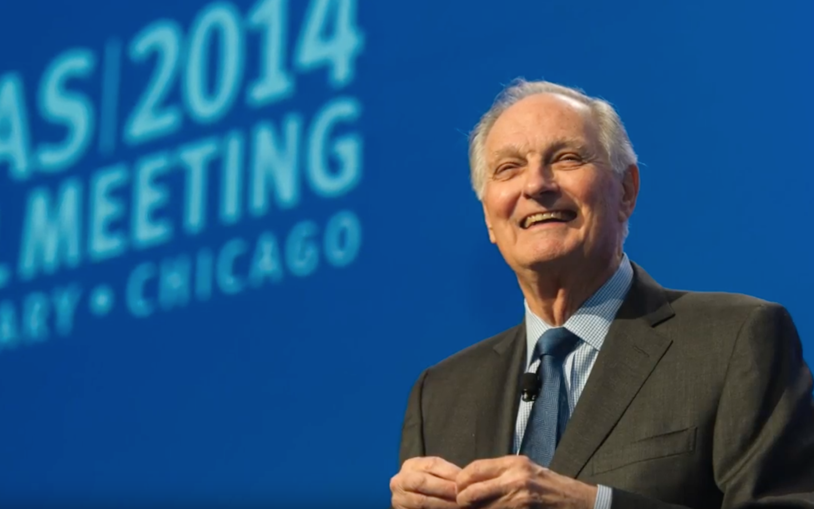 Alan Alda – 2016 Double Helix Medal Recipient