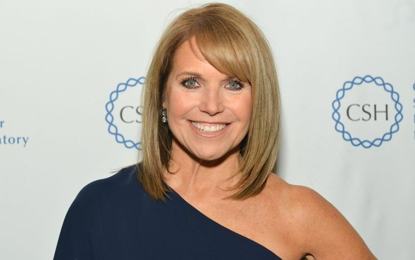 2015 Double Helix Medal Recipient Katie Couric