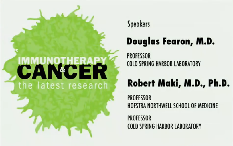 Public Lecture: Immunotherapy & Cancer – The latest research