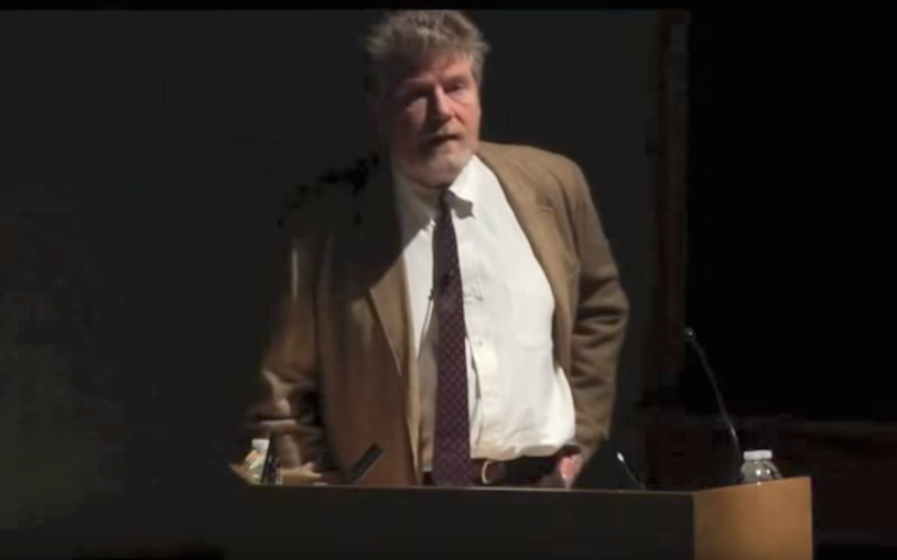 CSHL Professor David J. Stewart, Ph.D. speaks at the CSHLA Genome Education Presentation