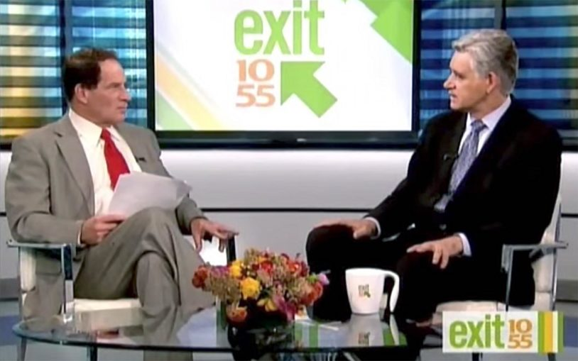 Dr. Bruce Stillman sits down with Exit 10-55's Richard Rose