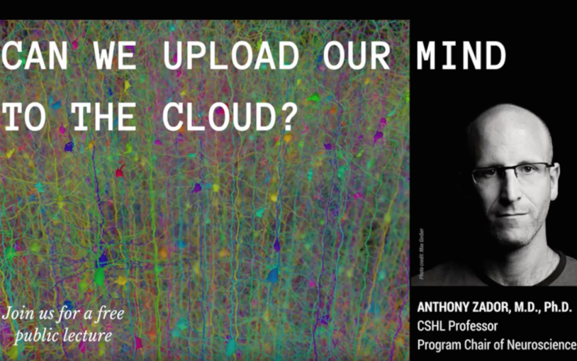Public Lecture: Can We Upload Our Mind to the Cloud?