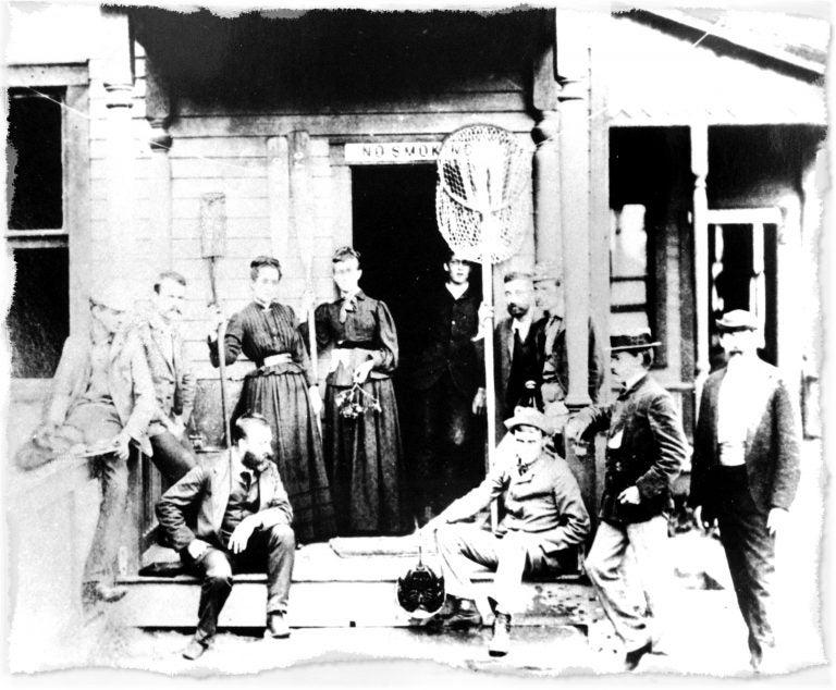 CSHL 1890 first biolab class