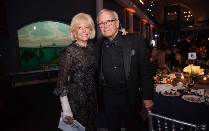 Lesley Stahl and Tom Brokaw