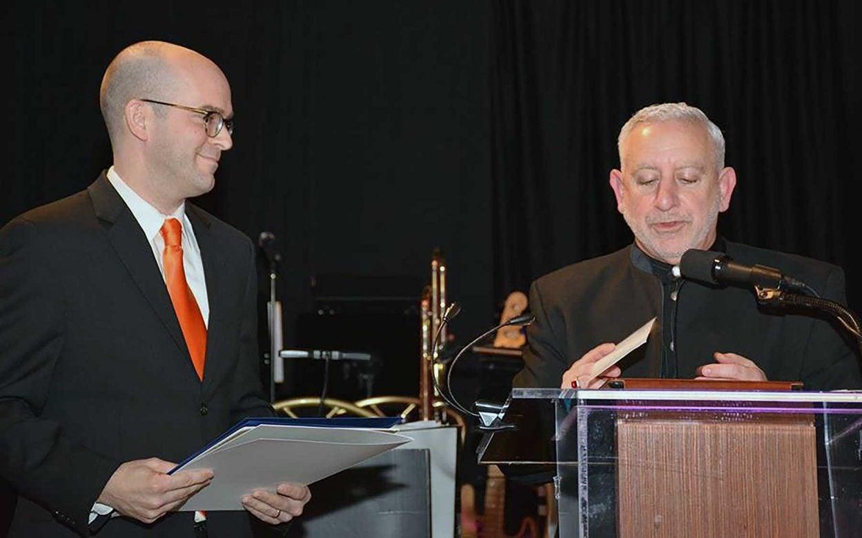 Chris Vakocs and Phil Renna