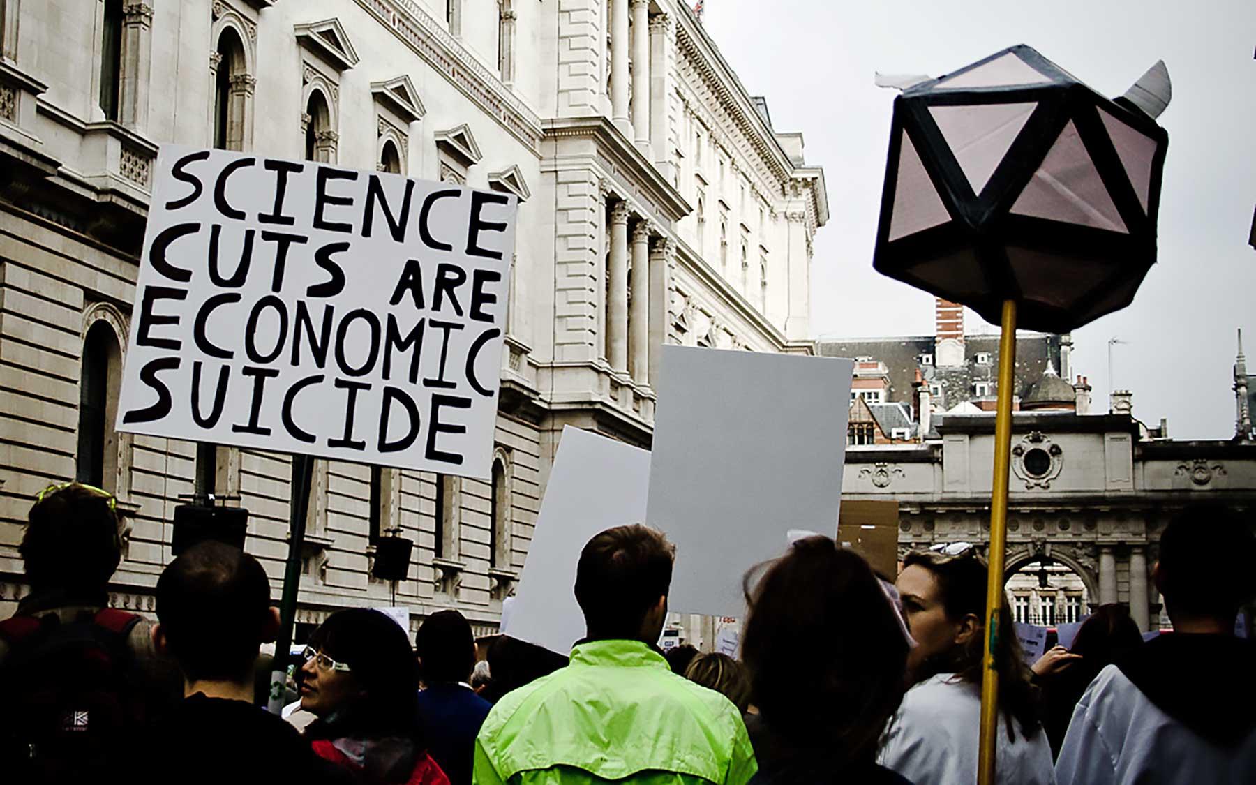 Science cuts are economic suicide