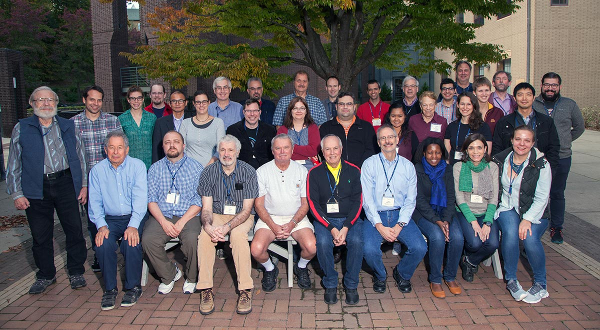 2017 X-ray Methods in Structural Biology course participants