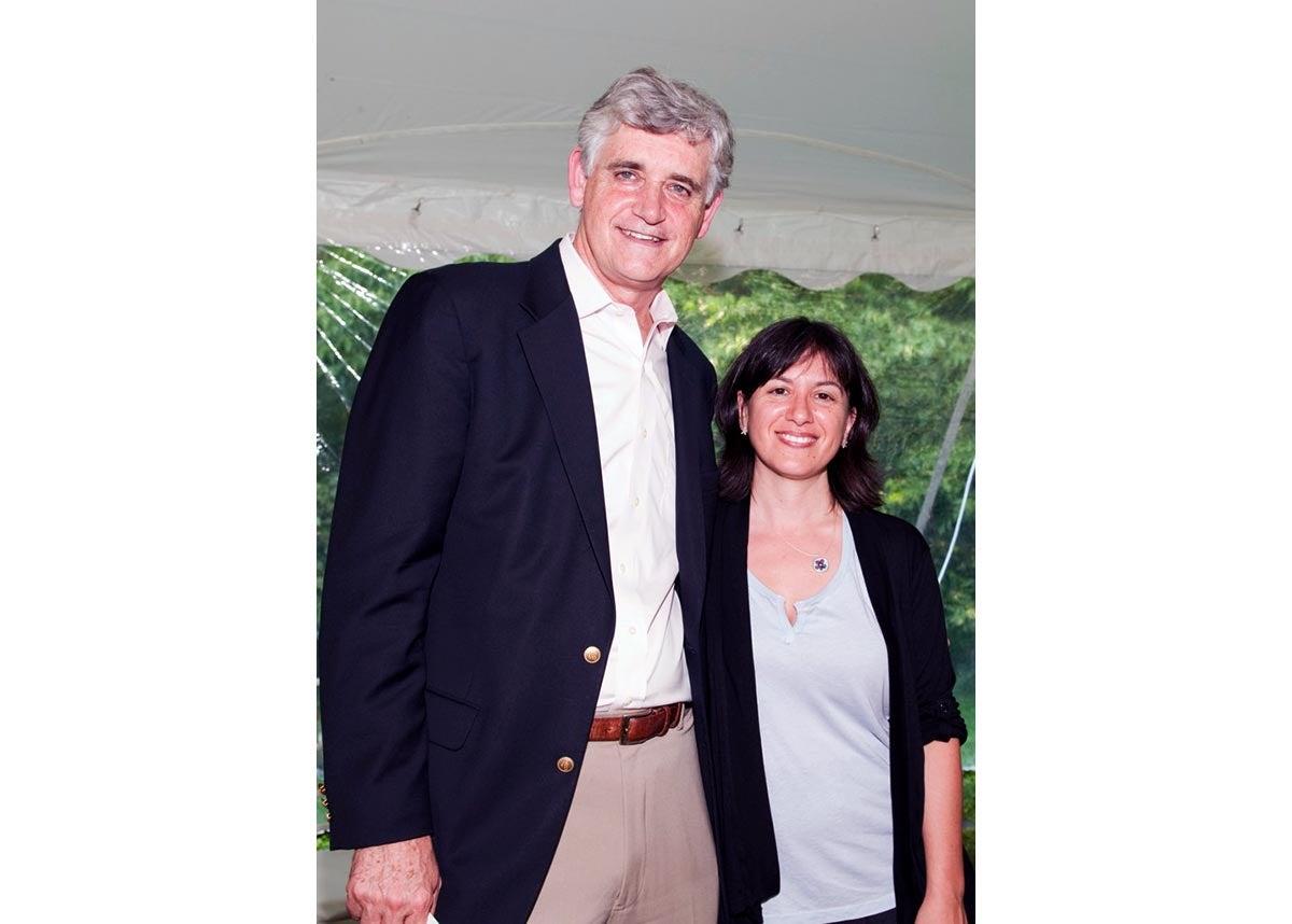 Bruce Stillman and Amy Harmon