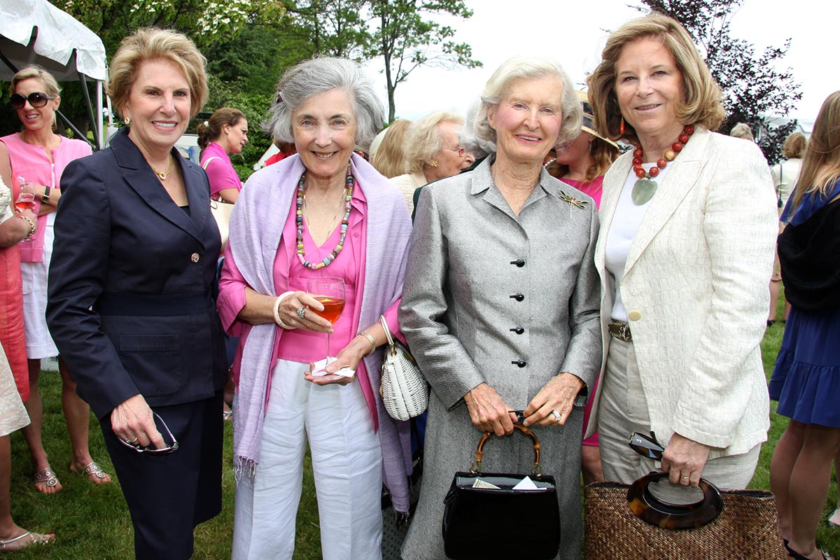 Connie Silveri, Janet Connolly, Barbara Candee, Wendy Breck