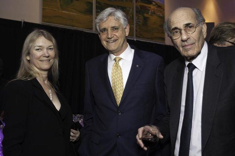 Cori Bargemann, Bruce Stillman, and Richard Axel