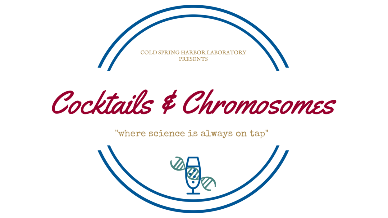 graphic of Cocktails & Chromosomes logo