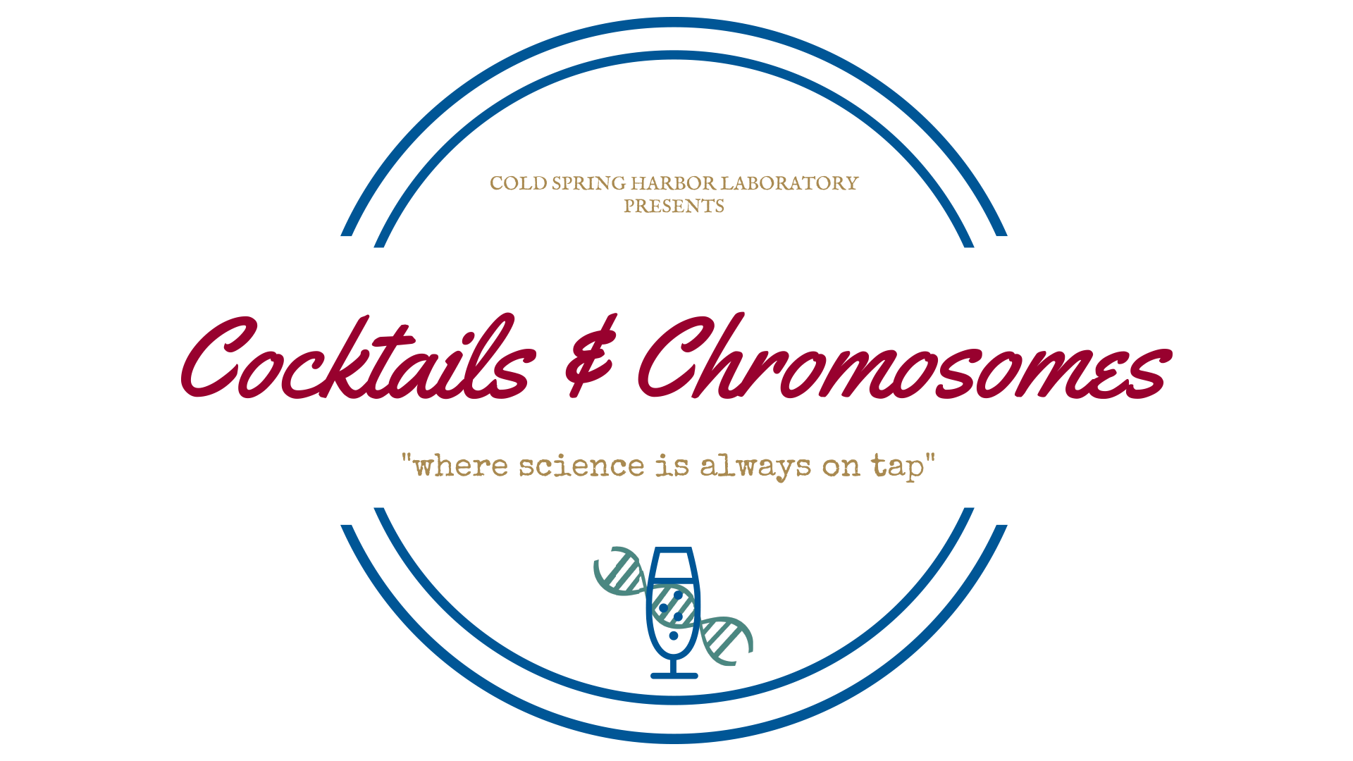 graphic of Cocktails & Chromosomes logo