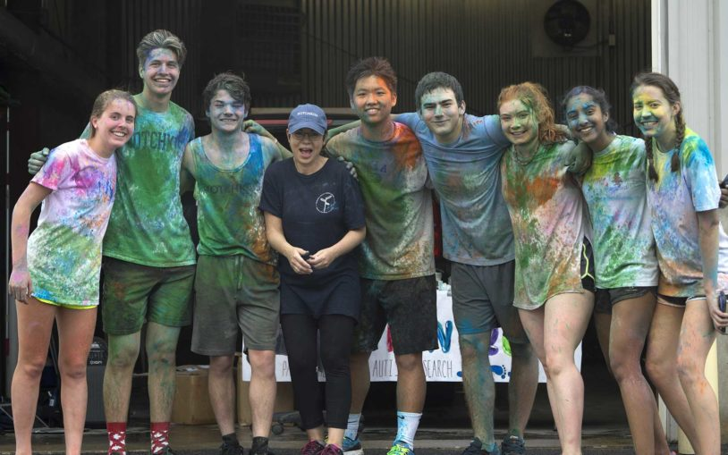 Hotchkiss hosts 3rd 'Paint the Path' autism fundraiser