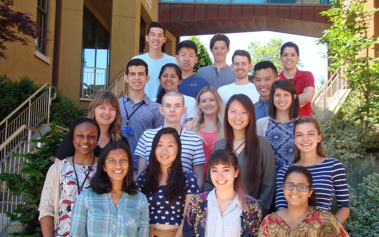 Undergraduate Research Program graduates