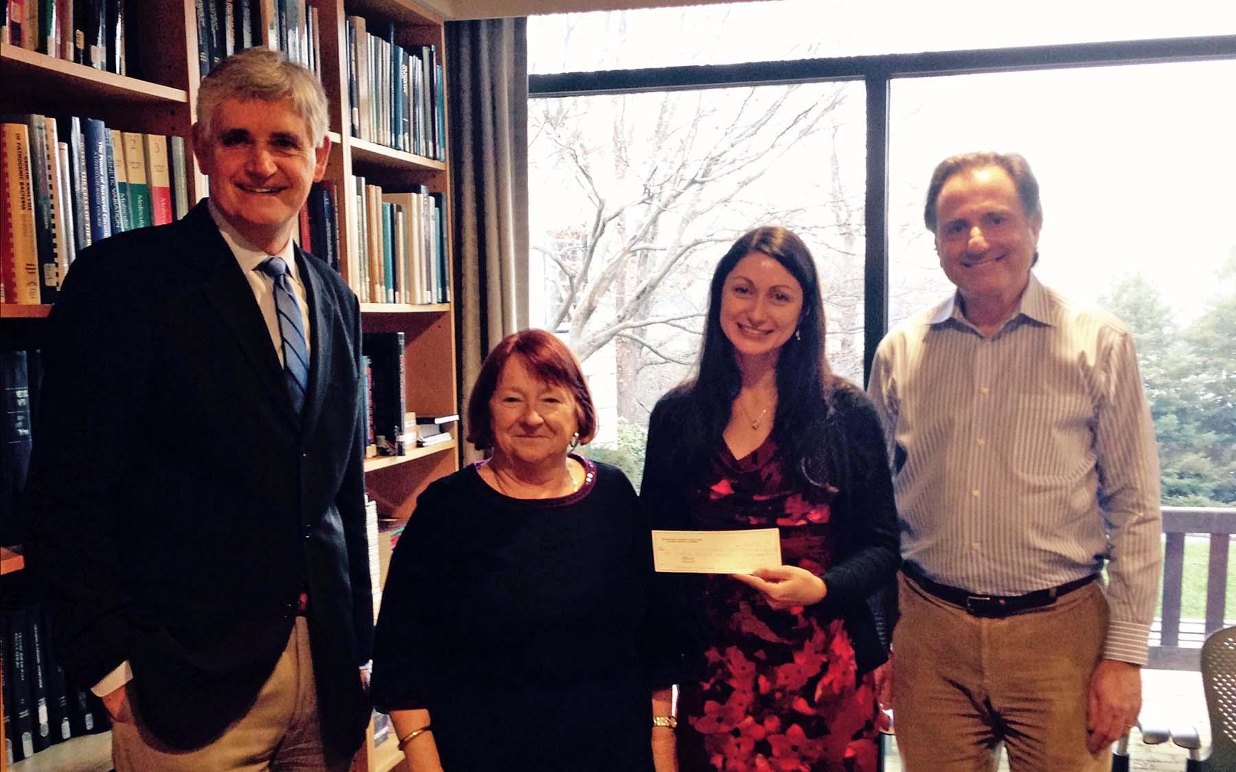 MWCABC donation to CSHL