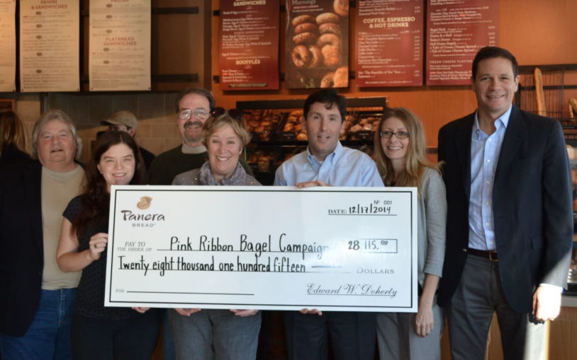 Pink Ribbon Bagels bring nearly $8,500 for breast cancer research at CSHL