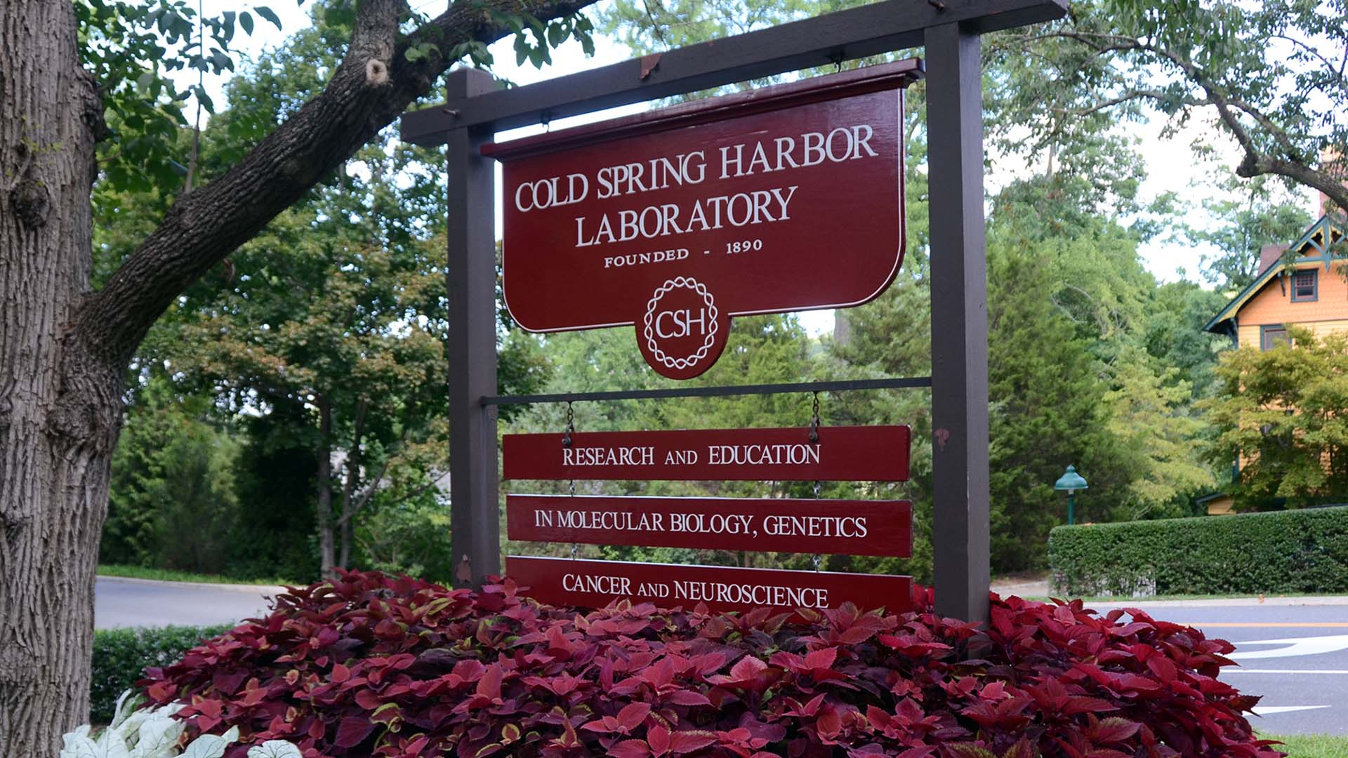 CSHL sign event