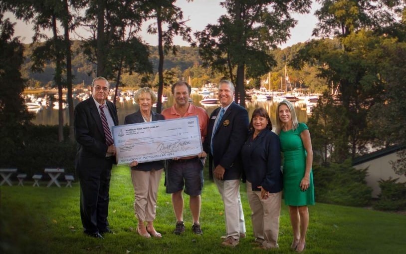 Masthead Cove Yacht Club raises $9,500 for CSHL cancer research at annual race