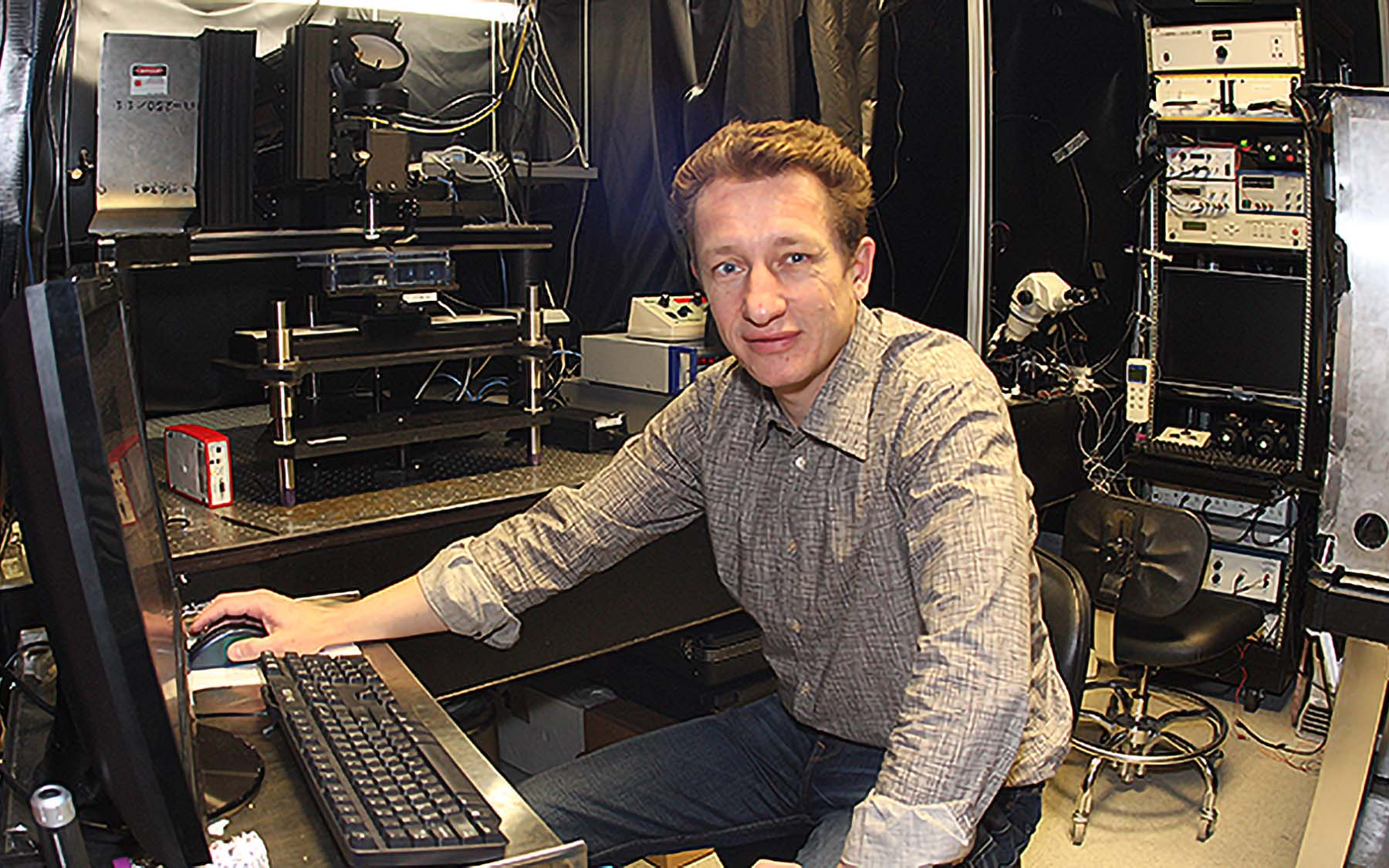 Dr Pavel Osteen of CSHL