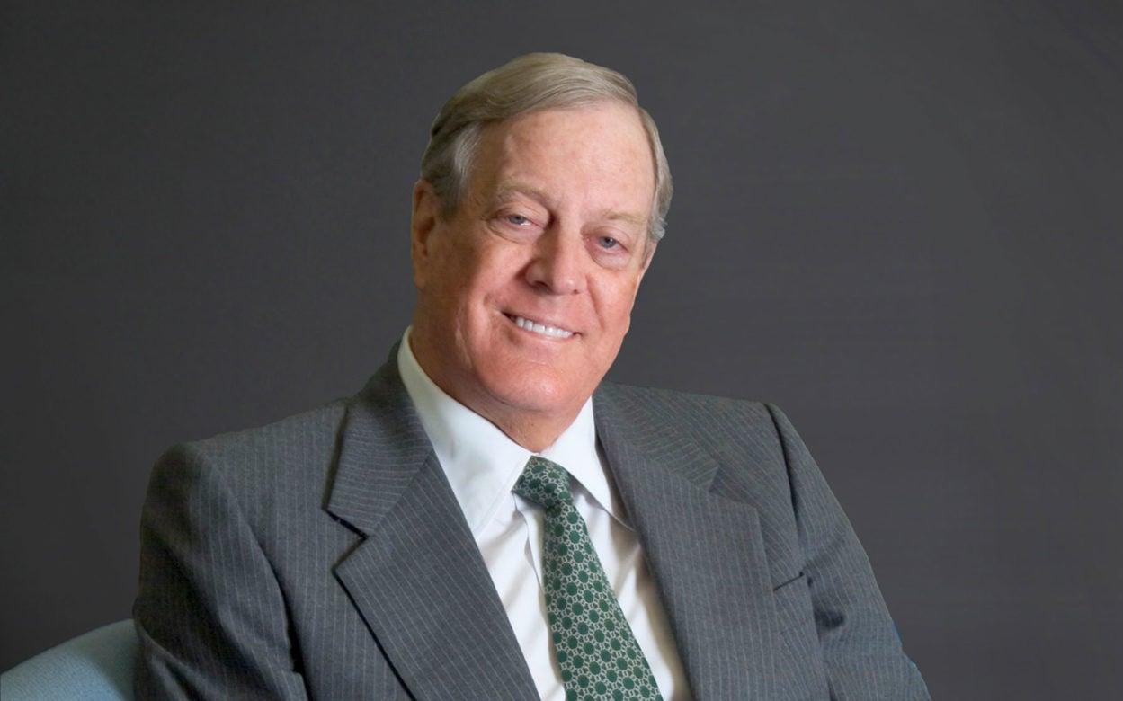 David Koch DHMD Honoree