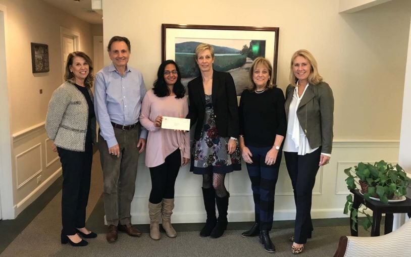 Women's coalition donates $100k to breast cancer research
