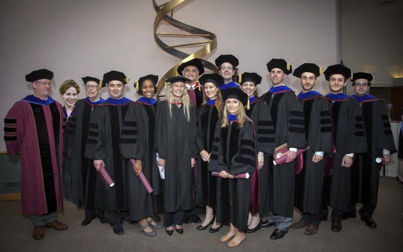Watson School of Biological Sciences celebrates 15th year, confers Ph.D.s on 11th graduating class