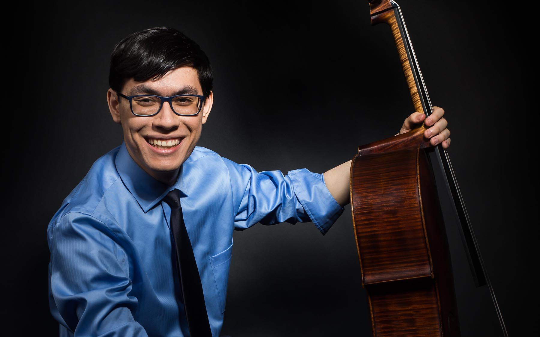 photo of Zlatomir Fung with cello