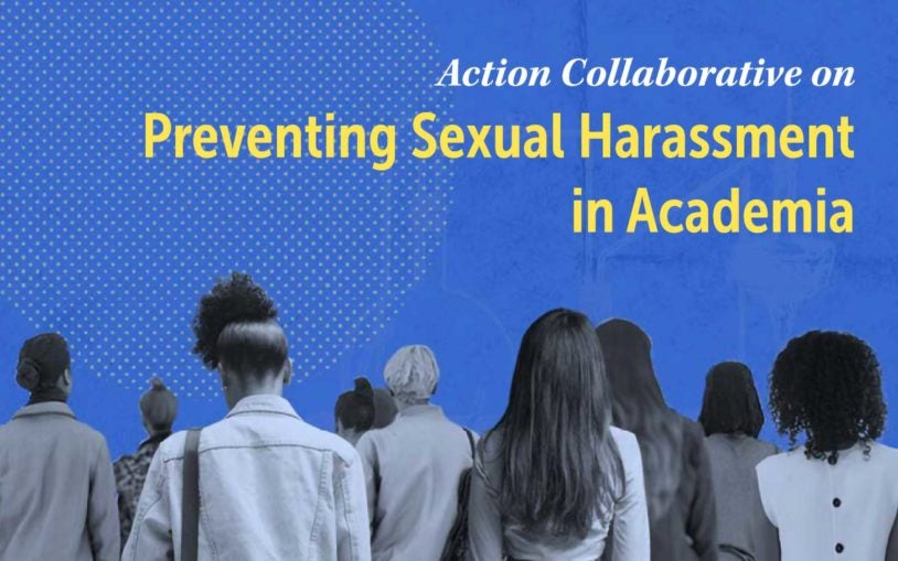Action Collaborative on preventing sexual harassment in academia