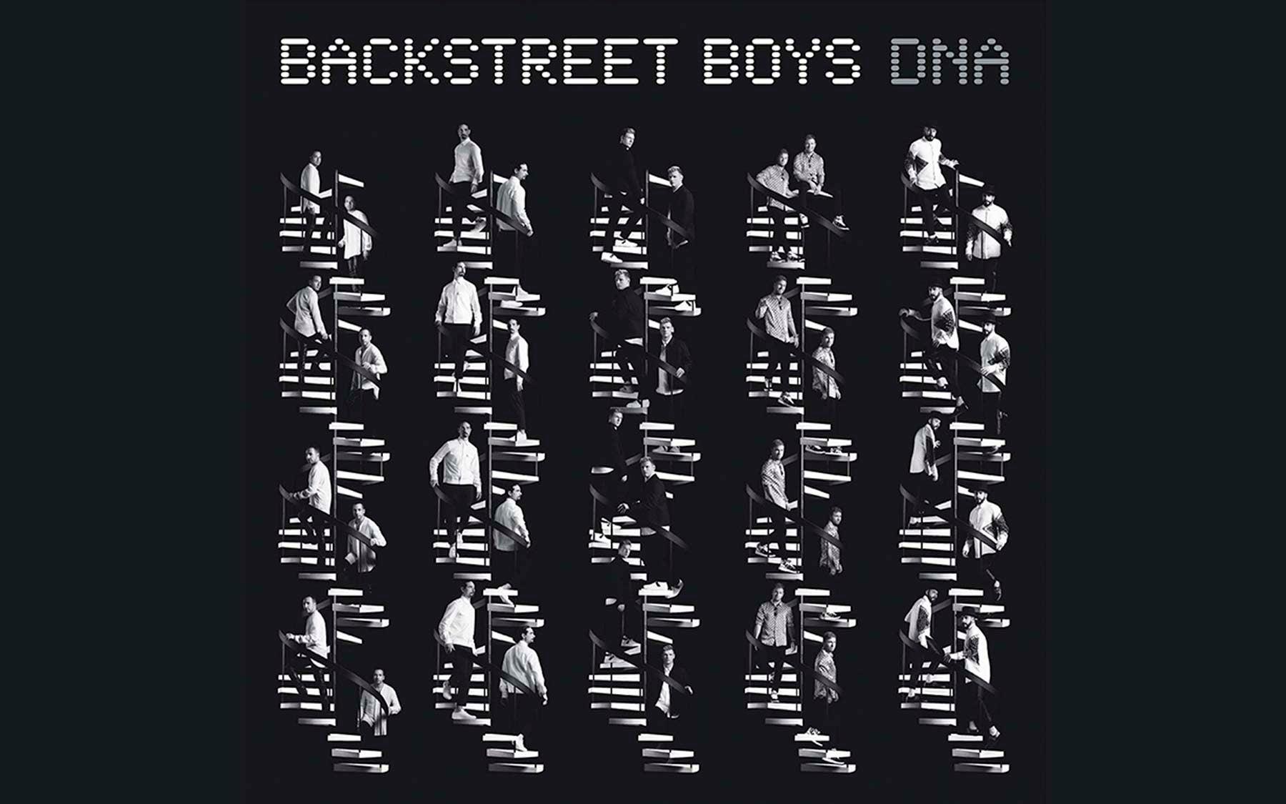 Backstreet Boys DNA album cover