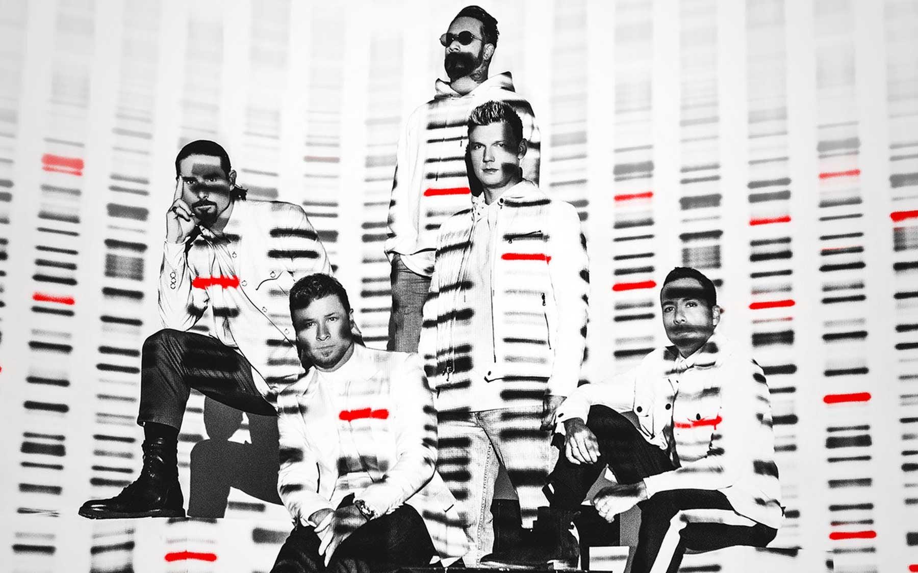 Backstreet Boys press by Dennis Leupold 2019 billboard