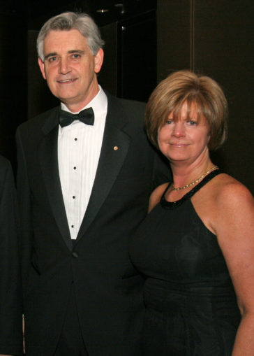 Bruce Stillman and wife Grace 2007