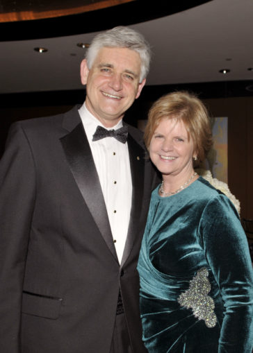 Bruce Stillman and wife Grace 2012