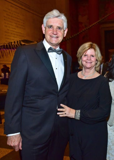 Bruce Stillman and wife Grace 2018