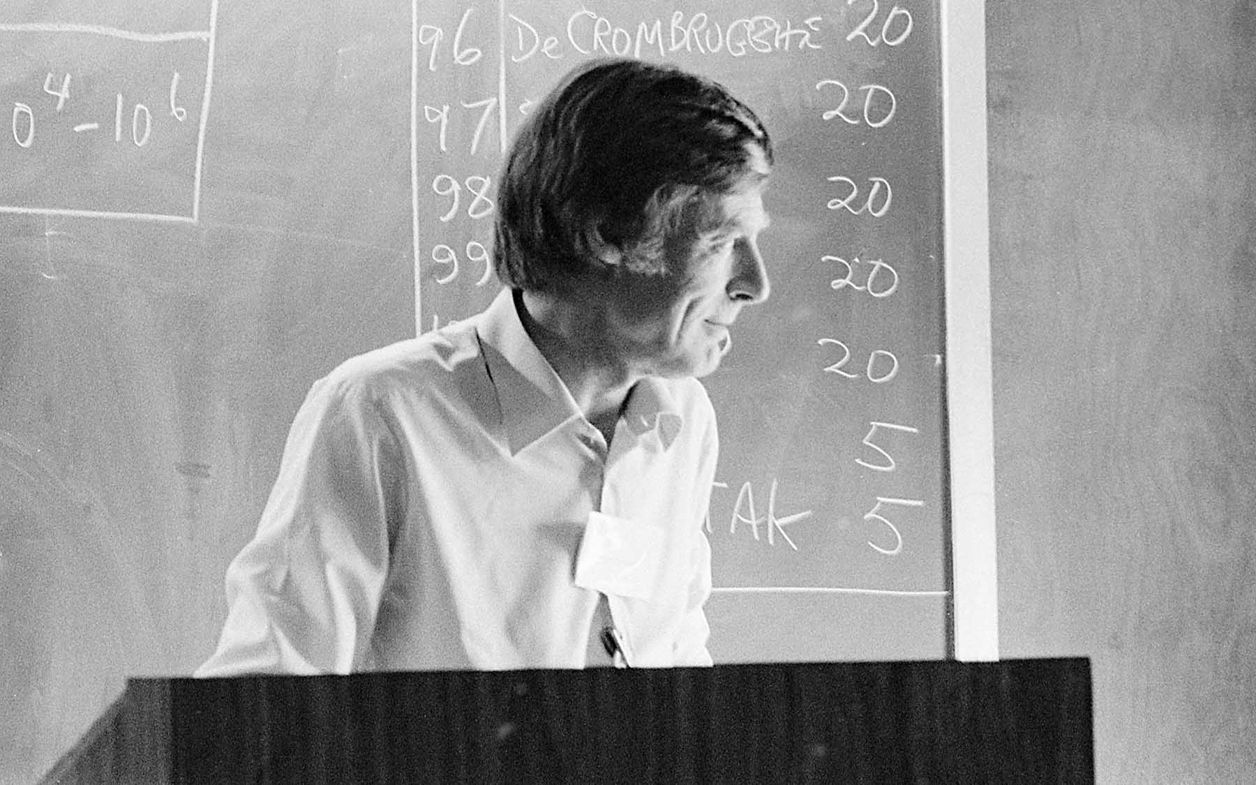 Remembering John Cairns, CSHL Director, 1963-1968 - Cold