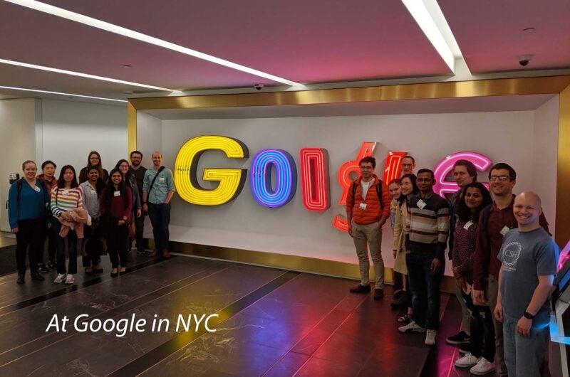 BEC Google visit NYC 2019